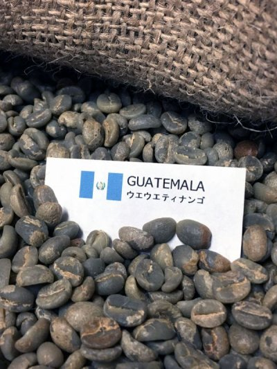 画像2: コーヒー生豆 グァテマラSHBウエウエティナンゴ 1kg
